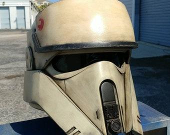 Custom Shore Trooper Replica Helmet - Padded and Wearable