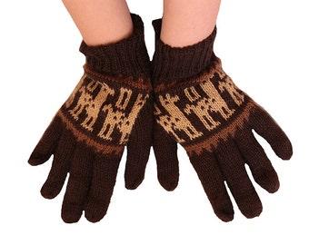 South American Alpaca Wool Gloves