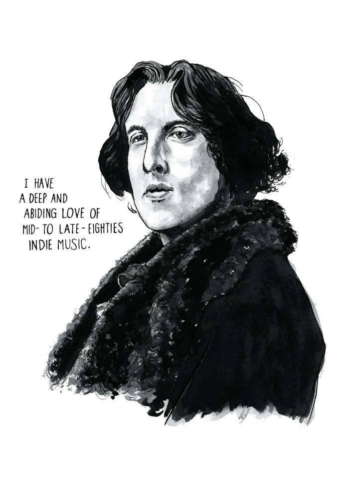 Oscar wilde portrait poster print as seen on hbo 39 s for Art and decoration oscar wilde