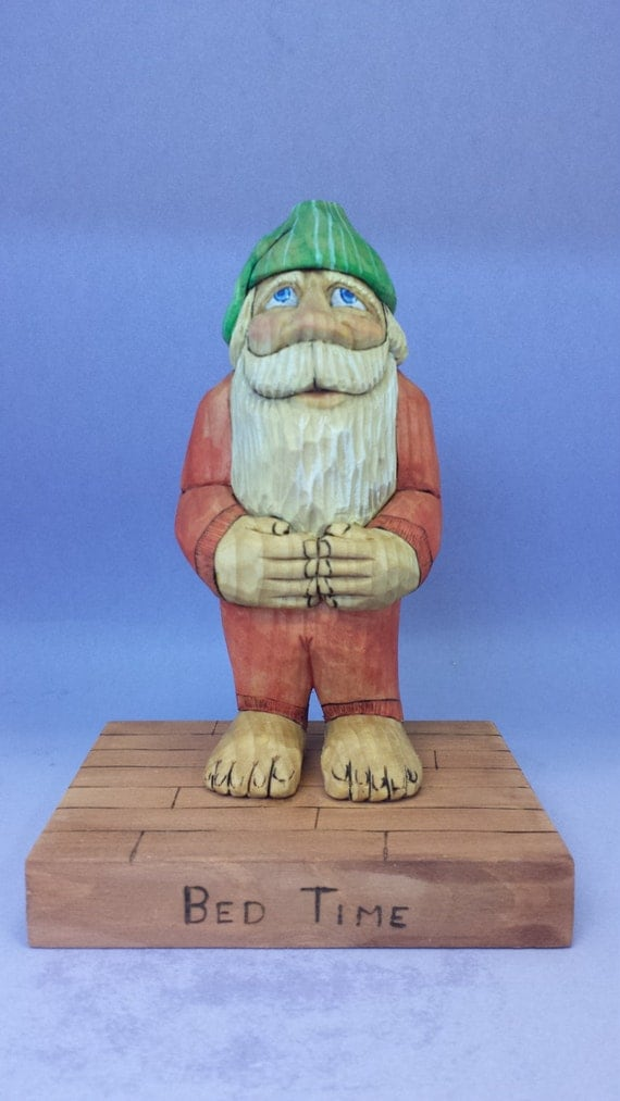 Santa Claus wood carving hand carved collectible St Nick figurine Christmas decoration gift for him or her hand made OOAK holiday decor