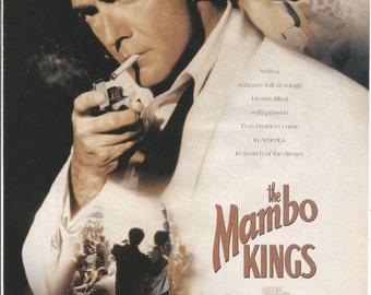 1992 Advertisement The Mambo Kings Antonio Banderas Movie Cathy Moriarty Celebrity 90s Cinema Film Pulitzer Prize Novel  Wall Art Decor