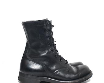 7 N | 1960's Vietnam Era Combat Boots Military Boots Biltrite Soles
