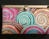 Stylish Diva Wallet Clutch Beachy Colors