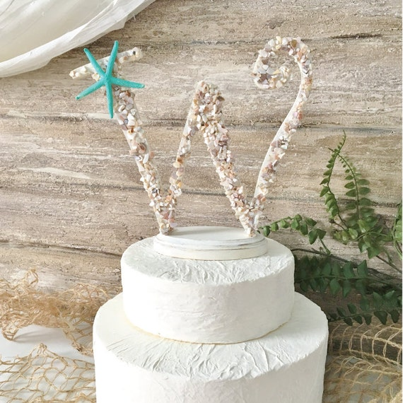 y wedding cake topper wedding cake topper starfish cake by thepaintedpearlsrq 27705