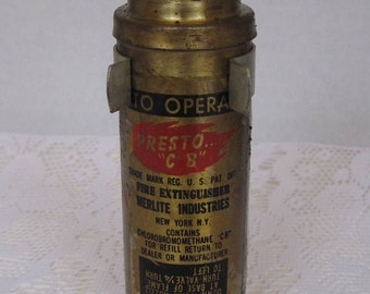 Presto C B Fire Extinguisher, Merilite Industries