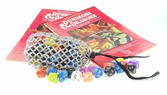 Dungeons And Dragons Dice Bag  Magic The Gathering  Large Aluminum SKDB-AL-L-SV
