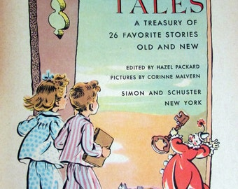 Bedtime Tales - 1951 Big Golden Book of Children's Fairy Tales and Bedtime Stories