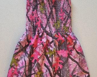 Girl's Spring/ Summer Camo Dress