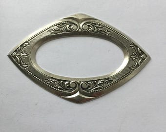Navette Shaped Frame Stamping