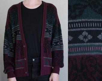 cozy knit cardigan - 2X
