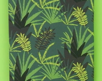 JUNGLE digitally printed cotton