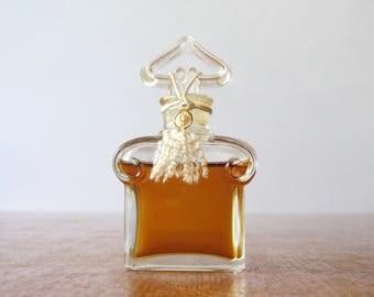 Vintage 1950's Guerlain Sealed Flacon Bouchon Coeur Perfume / Parfum / Scent / Fragrance Paris France L'Heure Bleue