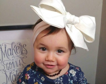 Baby Headband | Bow Headband | Big Bow Headband | Bow Headwrap | Giant Bow Headband