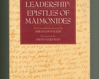 Maimonides. Crisis and Leadership: Epistles of Maimonides, Medieval Jewish Philosopher and Torah Scholar, on the Inquisition, Vintage Book