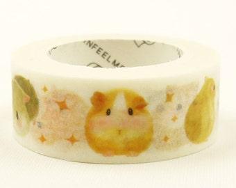 Hamster - Japanese Washi Masking Tape - 7.6 yards