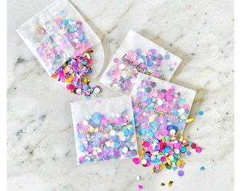 Best Day Ever! Confetti Toss