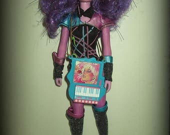 Hasbro Vintage Jem Synergy Doll Purple Rare In Outfit 1980s