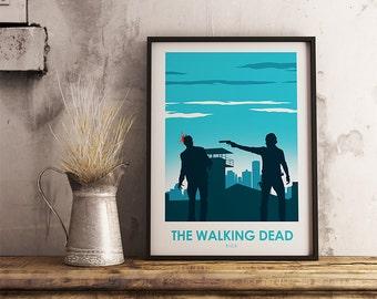 The Walking Dead Rick Poster, Rick Print, TV Print, Walking Dead Poster, Television, Poster, Print