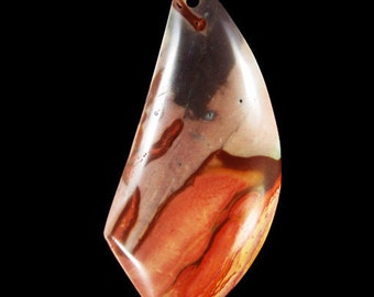 Need More Focus?...Wear The Succor Creek Jasper Pendant Bead From Oregon....ON SALE