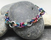 Unity Bracelet - Activist Jewelry -  You Choose Donation - International Rescue Committee, ACLU, Southern Poverty Law Center, and more