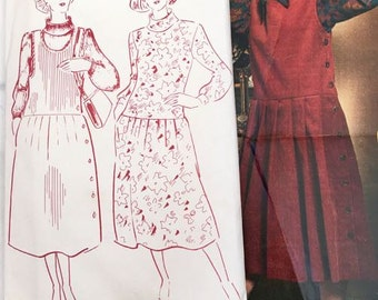 Women's Weekly Pinafore and Dress Sewing Pattern B971