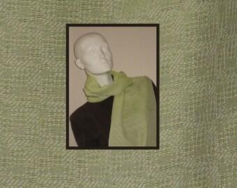 pure Italian silk handwoven scarf