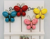 Decorative Butterfly Pins, Pincushion Pins, Scrapbook Pins, Butterfly Embellishments, Butterfly Stickpins