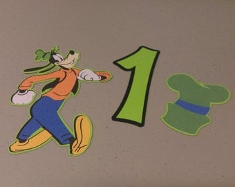 Goofy Centerpiece, Goofy Cutouts, Goofy Birthday Party Decorations, Cake Topper, Party Supplies