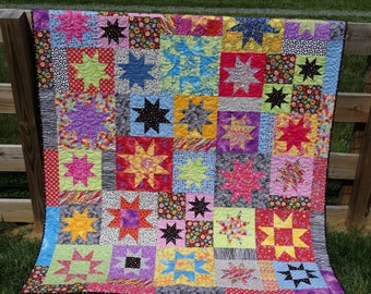 All Stars Quilt in Kaffe Fabrics
