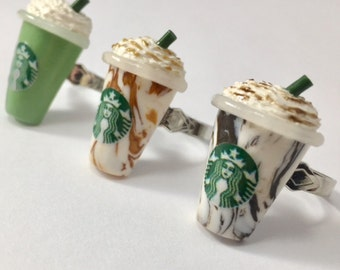 Starbucks Frappuccino Inspired Ring
