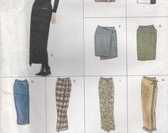 Outstanding Skirt Pattern Vogue 2029 Sizes 18 20 22 Uncut