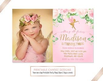 Fairy Birthday Invitation