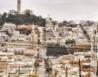 San Francisco Street Scene Photo Print
