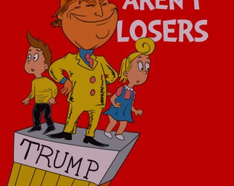 Winners Aren't Losers Donald Trump Children's Book cartoon Jimmy Kimmel