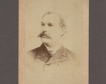 Cabinet Card of Singer and Composer, E. O. Excell ~ Amazing Grace