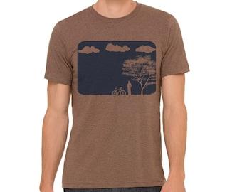 Mountain Biking Shirt | Bicycle Shirt | Mountain Bike T-shirt | Graphic Tee| Cycling Shirts | Unisex T-shirt | Mountains Shirt | Mens Tshirt