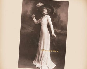 Actress Lily Elsie New 4x6 Vintage Postcard Image Photo Print SD238