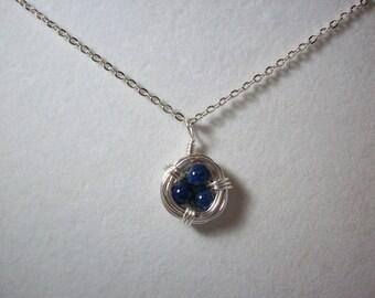 Mini Bird Nest Necklace