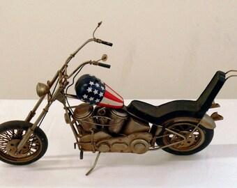 Hand Crafted Harley Davidson Easy Rider Motorcycle Hog