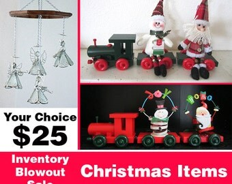 SALE! Angel Mobile or Christmas Trains
