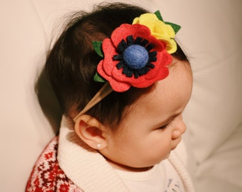 Baby couture... Individual stretch baby headband. Choose one...