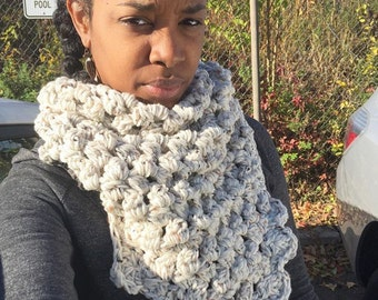 Bubbly Triangle Scarf
