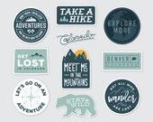 Colorado Adventure Stickers