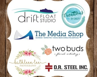 Logo Design - Custom Logo Design - Photography Logo - Clothing Logo - Handmade Logo - Flower Logo - Business Branding - Professional Logo