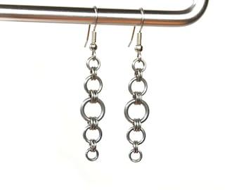Gradient Circle Earrings