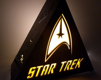 Star Trek Lamp