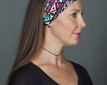 No Slip Headband - Running headband - Yoga Headband by Manda Bees - No Slip Fitness Workout Headband - ROXY