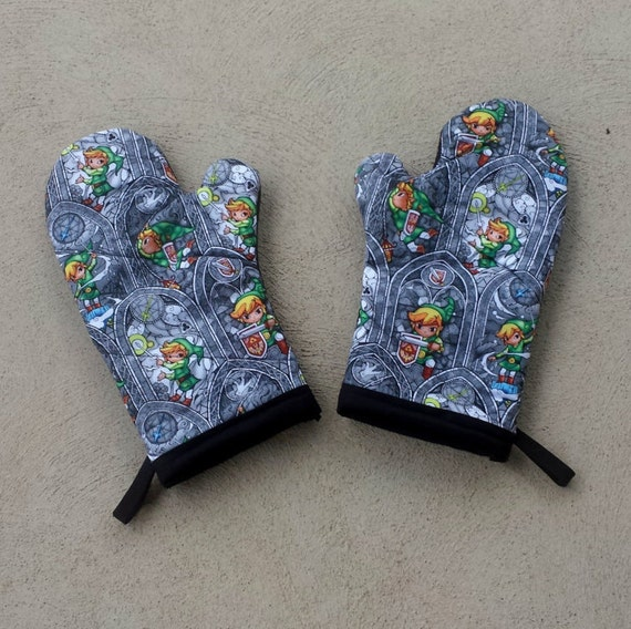 Nerdy Kitchen Accessories: Legend Of Zelda Oven Mitts And Pot Holders Nerdy House
