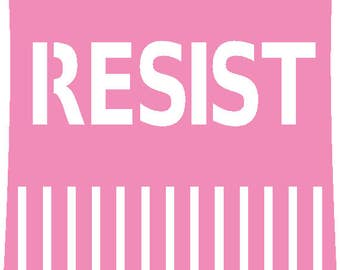 Pussy Hat Resist SVG File
