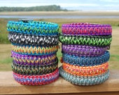 Custom King Cobra Paracord Dog Collar, Choose Your Colors & Closure Type, Strong Dog Collar, Thick Dog Collar, Braided Dog Collar, Biothane